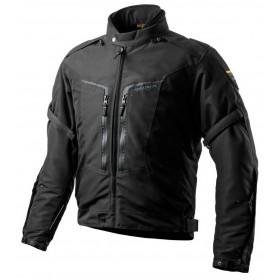 SHIMA COMBAT BLACK textílna bunda