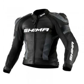 SHIMA STR BLACK kožená bunda