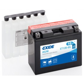 EXIDE BIKE AGM YT12B-BS 12V 10Ah