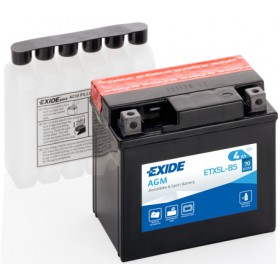 EXIDE BIKE AGM YT5L-BS 12V 4Ah