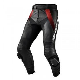 SHIMA STR RED pánske kožené nohavice
