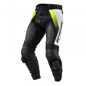 SHIMA STR FLUO pánske kožené nohavice