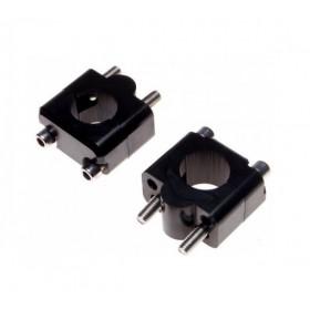 Držiaky-zvýšenie riadítok 28,5mm, čierne