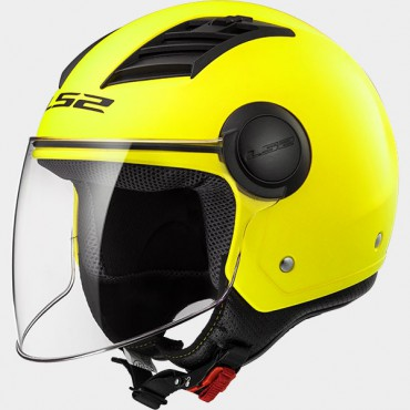 Prilba LS2 OF562 AIRFLOW SOLID H-V Yellow