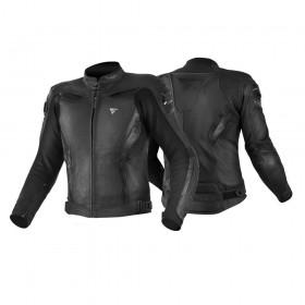 SHIMA CHASE BLACK pánska kožená bunda