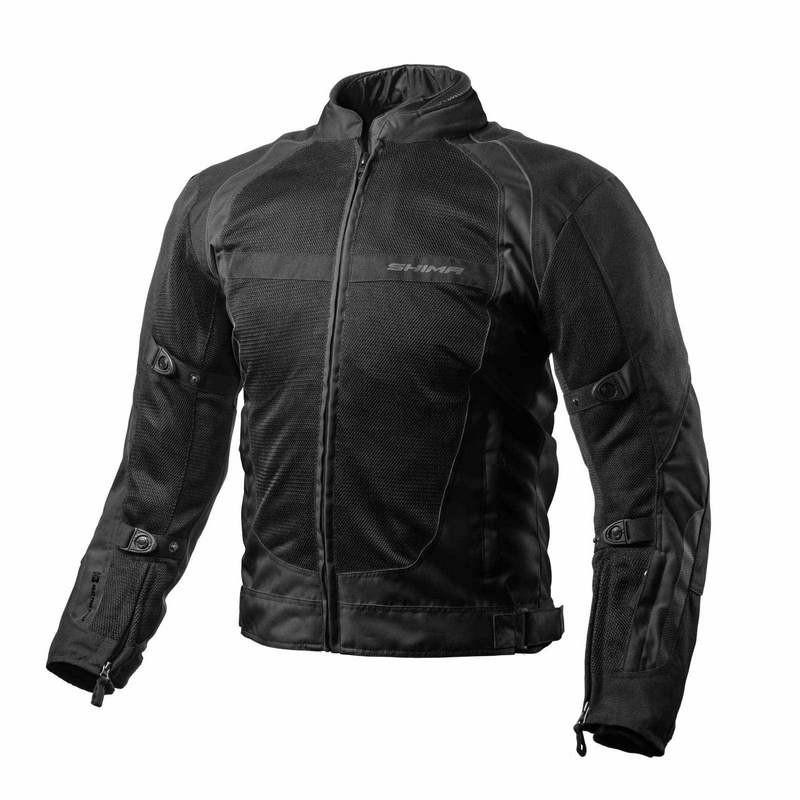 SHIMA X-MESH čierna letná bunda