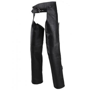 Adrenaline CHAPS kožené návleky na nohavice