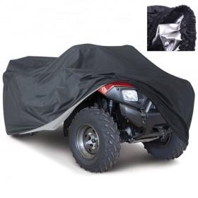 Plachta pre ATV 208x122x78 čierna