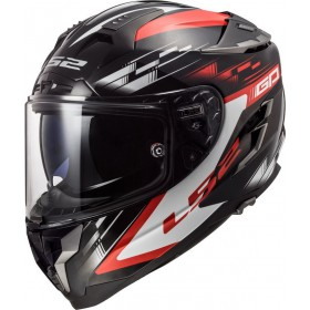 Prilba LS2 FF327 CHALLENGER GP black red