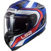 Prilba LS2 FF327 CHALLENGER FUSION blue red