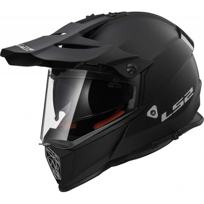 40e508ec072a2 Prilba LS2 MX436 PIONEER matt black | LVMOTO motoshop