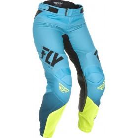 Dámske nohavice FLY WOMEN'S LITE Blue/Hi-Vis