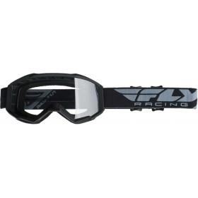 FLY FOCUS 2019 Black/Clear motokrosové okuliare