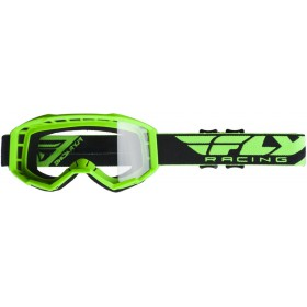 FLY FOCUS 2019 Green/Clear motokrosové okuliare
