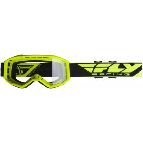 FLY FOCUS 2019 Hi-Vis Yellow/Clear okuliare
