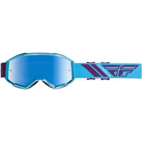 FLY ZONE Blue/Port/Blue Mirror okuliare