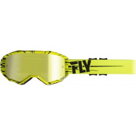 FLY ZONE Hi-Vis/Yellow/Black/Gold Mirror okuliare