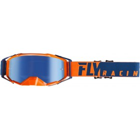 FLY ZONE PRO Orange/Blue/Blue Mirror okuliare
