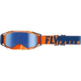 FLY ZONE PRO Orange/Blue/Blue Mirror okuliare