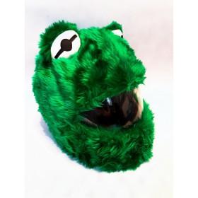 Návlek na prilbu ŽABA zelena
