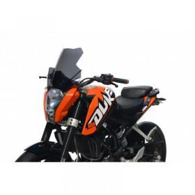 Turistické plexi KTM DUKE 125 11-16