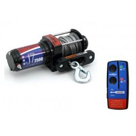 Naviják ATV TITANIUM WINCH J7 2500LBS + diaľkové