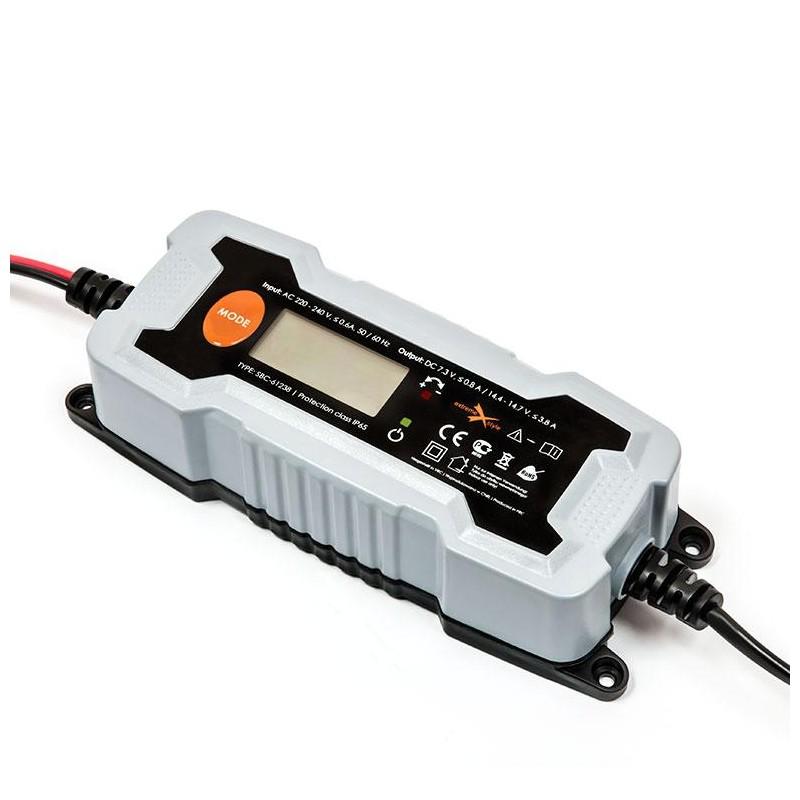 Inteligentná akumulátorová nabíjačka SBC-61238 6V-12V