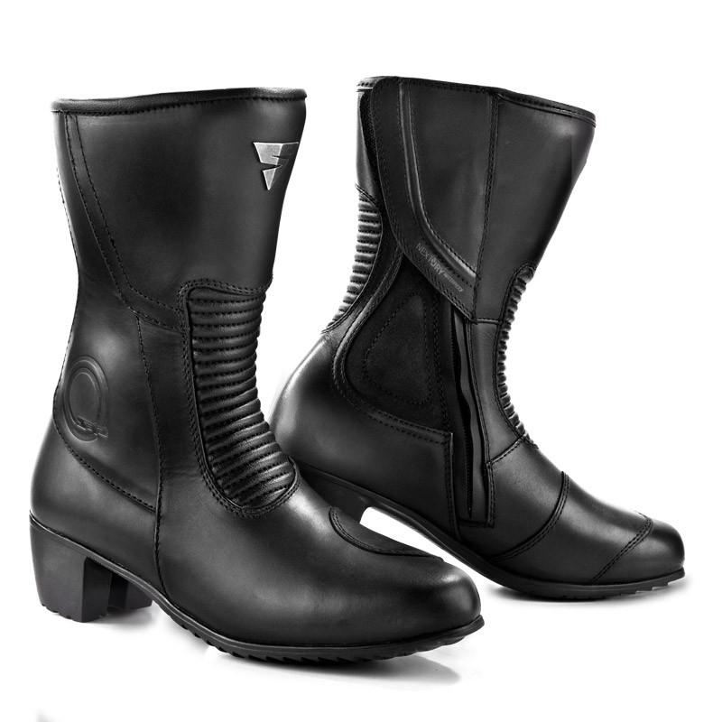 dcf037d721d1 SHIMA MONACO BLACK dámske motočižmy