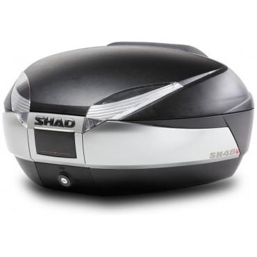 SHAD SH48 TITANIUM-BLACK kufor na moto