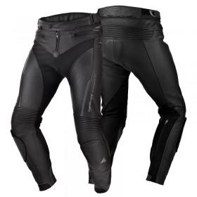 SHIMA CHASE BLACK kožené motonohavice