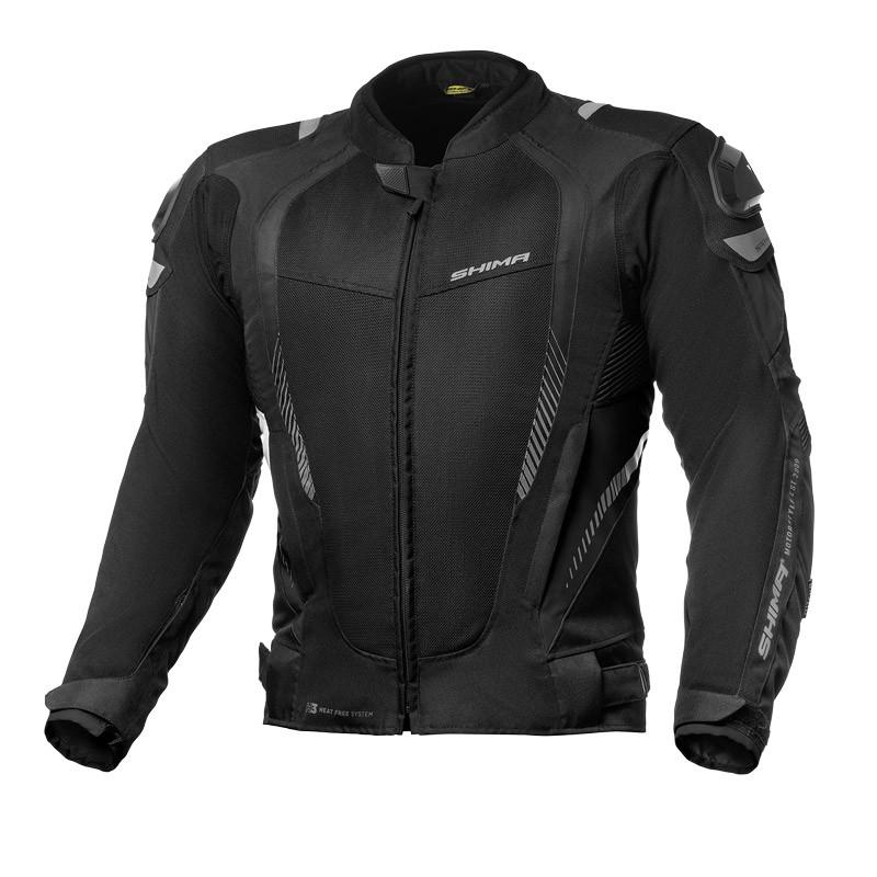 SHIMA MESH PRO BLACK textílna motobunda