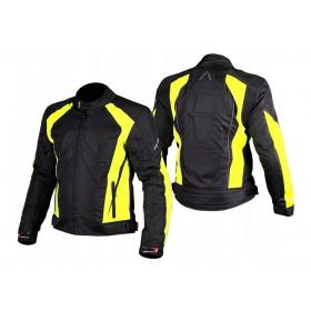 ADRENALINE SHIRO 2.0 BLACK HI-VIS textílna bunda