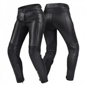 SHIMA MONACO BLACK dámské kožené nohavice