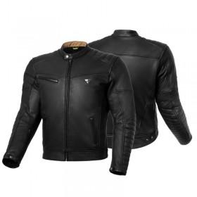 SHIMA WINCHESTER BLACK pánska kožená bunda