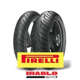 Pirelli DIABLO STRADA 120/70ZR17 + 180/55ZR17