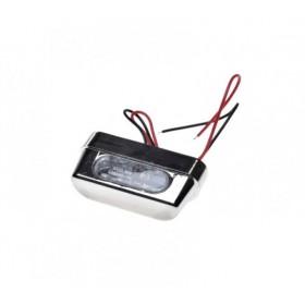 LED osvetlenie ŠPZ AM15L14 na motorku