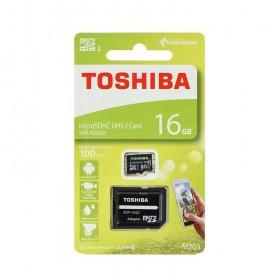 16GB microSD SDHC TOSHIBA pamäťová karta