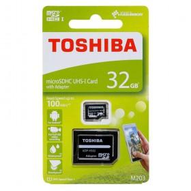 32GB microSD SDHC TOSHIBA pamäťová karta