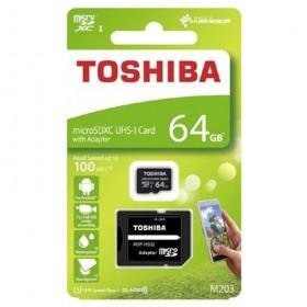 64GB microSD SDHC TOSHIBA pamäťová karta