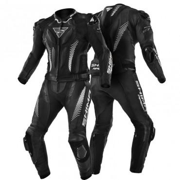 SHIMA APEX ST BLACK kožená kombinéza