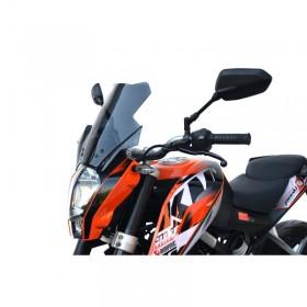 Turistické plexi KTM 200 DUKE 2011-2016