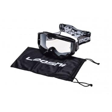 LEOSHI BLACK motokrosové okuliare