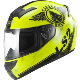 Prilba LS2 FF352 Rookie FAN Hi-Vis Yellow