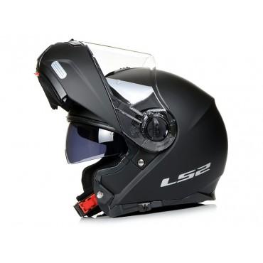 Prilba LS2 FF325 Strobe SOLID matt black