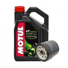 Motul 5100 4T MA2 10W-40 4L + olejový filter