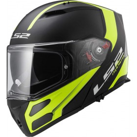 Prilba LS2 FF324 METRO RAPID black yellow
