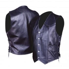 L&J KML004 pánska kožená vesta