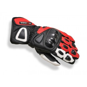 Tschul 212 kožené rukavice červené