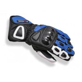 Tschul 212 kožené rukavice modré