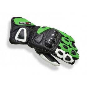 Tschul 212 kožené rukavice zelené